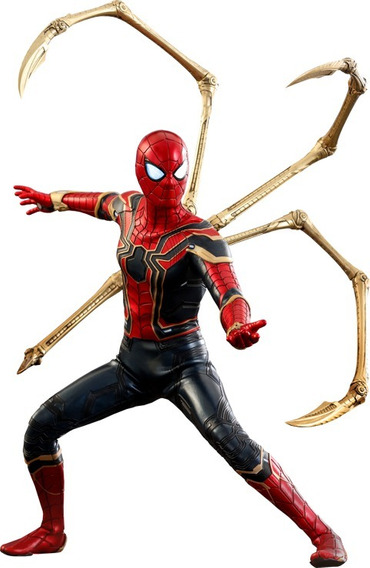Hot Toys Iron Spider Spiderman Infinity War Guerra Infinita