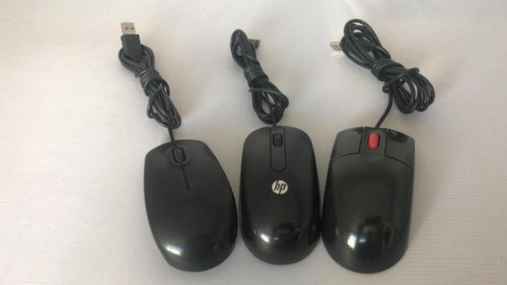 Kit 10 Mouses Multimarcas / Usado/ Usb