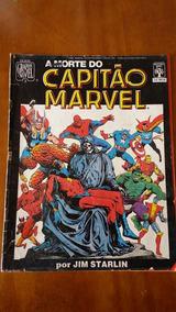 Grafhic Novel Morte Do Capitao Marvel