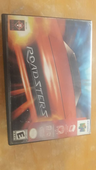 Roadsters -nintendo 64 Original Com Caixa