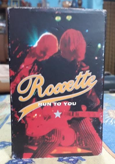 Roxette Single Cassette Run To You Parte1 Color Rojo Colecci