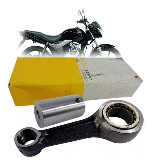 Biela Completa (kit) Honda Titan/fan/nxr 150 - Metal Leve
