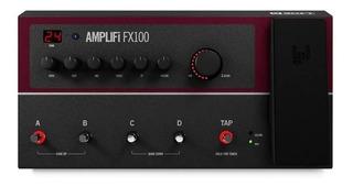 Pedaleira Line 6 Amplifi Fx100 Multiefeitos Nf E Garantia