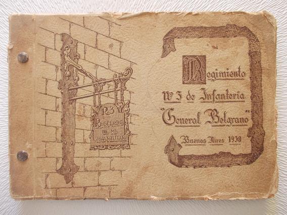 Album Reg. 3, Inf. Gral. Belgrano 1938 45 Fotos R3
