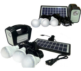 Pack 2 Kit Solar Emergencia Camping Ampolletas 36 Hrs Ml2965