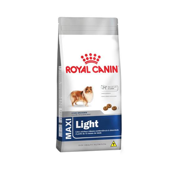 Ração Royal Canin Maxi Light - Cães Adultos - 15kg