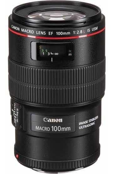 Lente Canon Ef 100mm2.8 L Is Usm Macro
