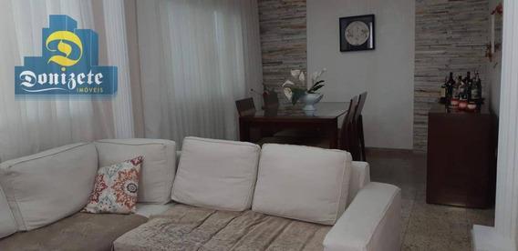 Casa Com 3 Dormitórios À Venda, 183 M² Por R$ 852.000,00 - Campestre - Santo André/sp - Ca0673