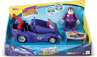 Vehículo Transformable Pete - Mickey Aventuras Sobre Ruedas