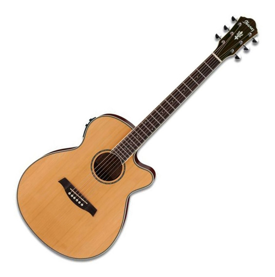 Guitarra Electroacustica Ibanez Aeg15 Ii Natural Con Fishman