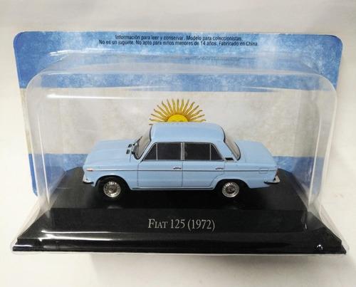 Fiat 125 1972 Escala 1/43 Clasicos Inolvidables