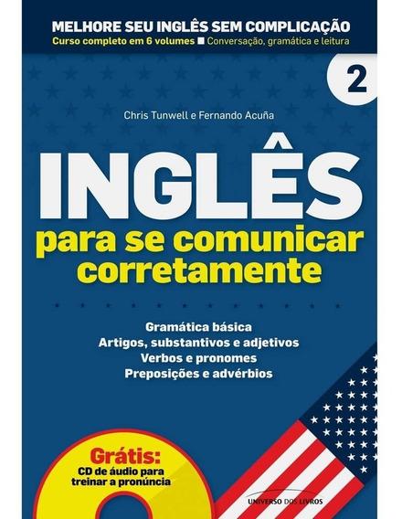 Melhore Seu Inglês Sem Complicação Vol.2 + Cd Áudio, Lacrado