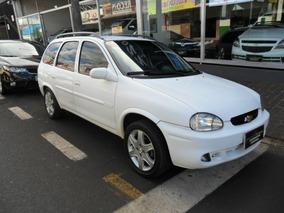 Chevrolet Gm Corsa Wagon Gl 1.6 Branco 2000