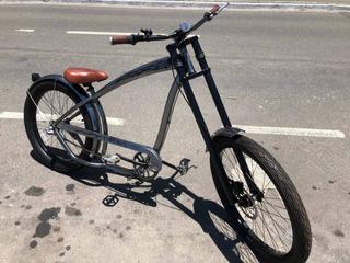 Bicicleta Niver - Cannibal - Prata