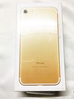 iPhone 7 Gold (sellado)