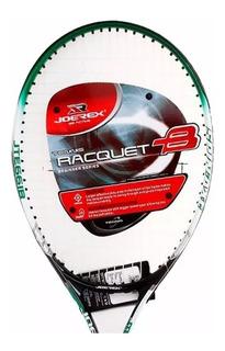 Raqueta Tenis Joerex Aluminio Amateur 110in2 De Aleacion