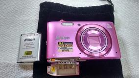 Camera Nikon Coolpix S5300 Rosa
