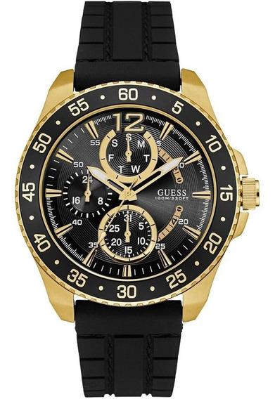 Relógio Masculino Guess Analógico 92600gpgsdu4 Aço Dourado