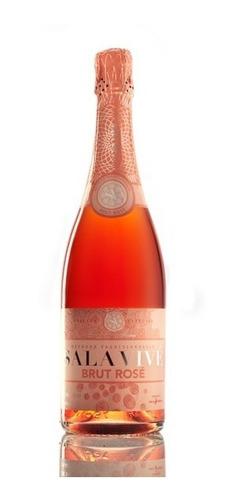 Imagen 1 de 1 de Vino Espumante Sala Vive Cava Freixenet Rose Brut  750ml