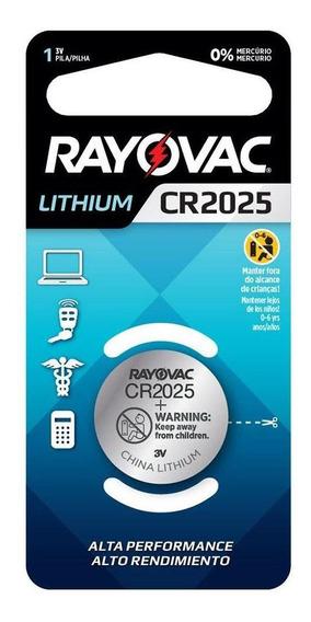 Pilha Rayovac Eletrônica Cr2025