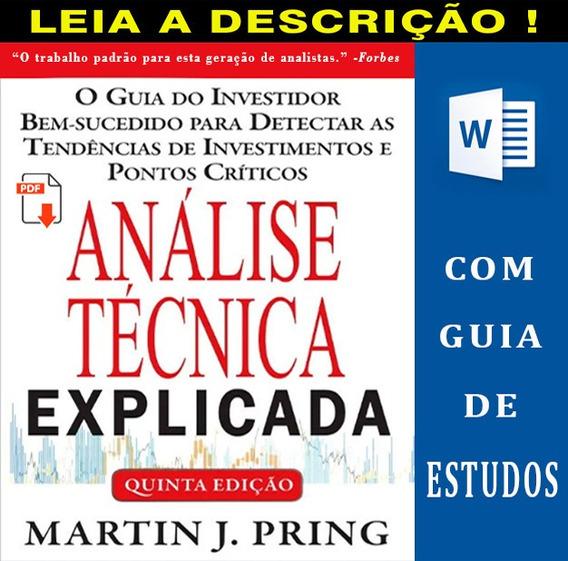 Análise Técnica Explicada Tradução Quinta Edição + Brindes