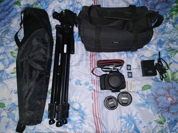 Combo Com Câmera T5i (avaliado Em 3700 Reais)