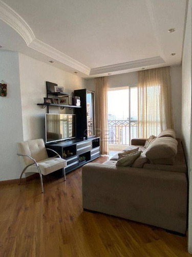 Imagem 1 de 25 de Apartamento Com 3 Dormitórios 1 Suíte 91 M² Por R$ 640.000- Santo Antônio - São Caetano Do Sul/sp - Ap12469