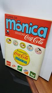 Turma Da Mônica Coleção Coca-cola Completa!! Com A Caixa
