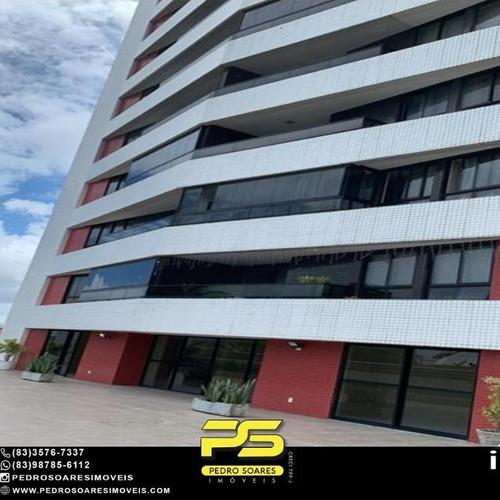 Apartamento À Venda, 113 M² Por R$ 500.000,00 - Miramar - João Pessoa/pb - Ap4898