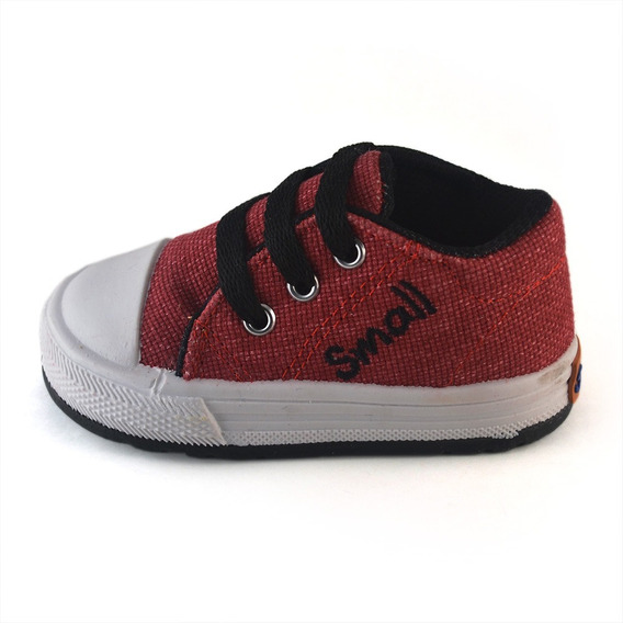 Zapatilla Bebe Panama Bordo Small Shoes Envío Gratis