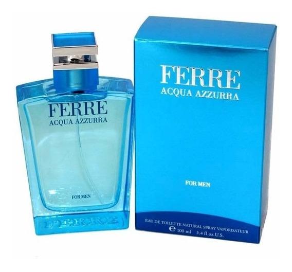 Perfume Acqua Azzurra Gianfranco Ferre Masculino 100ml Edt