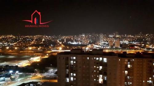 Apartamento A Venda No Bairro Vila Nambi Em Jundiaí - Sp.  - 3288-1