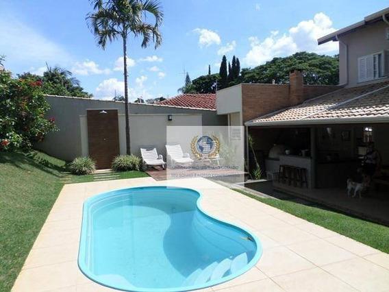 Casa Com 3 Dormitórios À Venda, 262 M² Por R$ 0 - Cidade Universitária - Campinas/sp - Ca1102