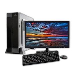 Computador + Monitor 18.5 Concordia Sff Amd Fx 4300 4gb Hd