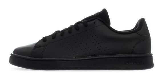 Tenis adidas Advantage Clean - F99253 - Negro - Hombre