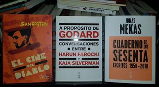 Mekas, Epstein Y Farocki. 3 Libros, Nuevos, Envío Y Cuotas.