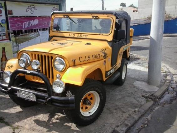Jeep Motor 6 Cilindro Original,de Ano 1962 Traçado 4x4,reduz