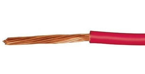 Cable Calibre 12 Thhw-ls Rojo Voltech 46060