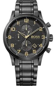 Relógio Masculino Hugo Boss Aeroliner 1513275 Cronógrafo