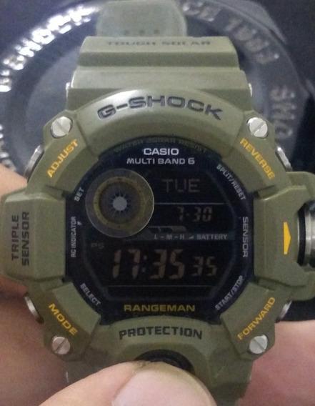 Relógio Casio G-shock Gw-9400-3 Rangeman Oportunidade!!