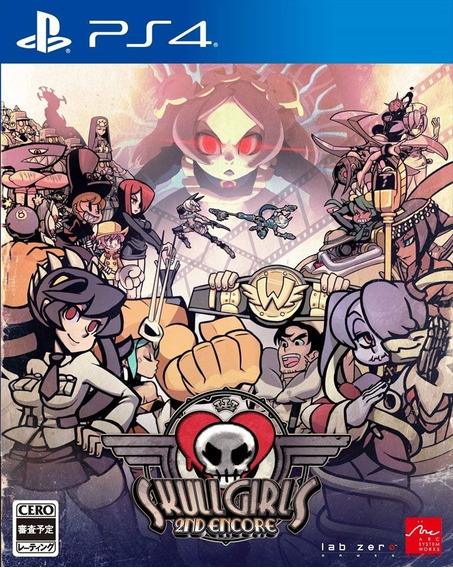 Ps4 Skullgirls 2nd Encore Psn Original 1 Mídia Digital