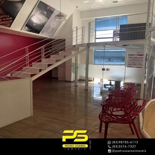 Imagem 1 de 10 de Sala Para Alugar, 81 M² Por R$ 1.500,00/mês - Torre - João Pessoa/pb - Sa0217