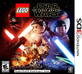 Lego Star Wars The Force Awakens - 3ds - Fisico - Megagames