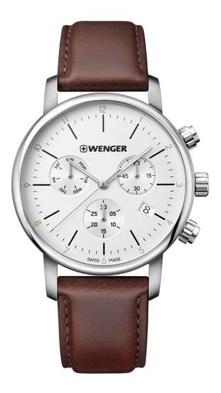 Relógio De Pulso Social Suíço Wenger Urban Classic Chrono