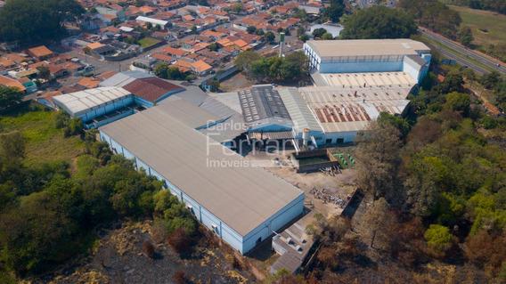 Galpão Industrial, Área Total 24.000 M2, Área Construída 17.00 M2 - Em Nova Odessa-sp - Cf28599