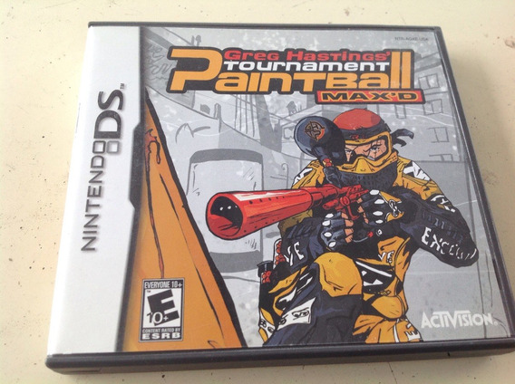 Greg Hastings Tournament Paintball Max D Nintendo Ds