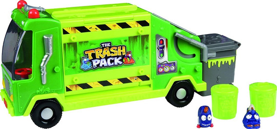 Basuritos Camión De Basura Trash Pack Msi