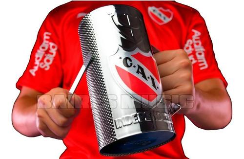 Vaso Guiro Independiente Oficial Guira Vaso 3/4 De Litro