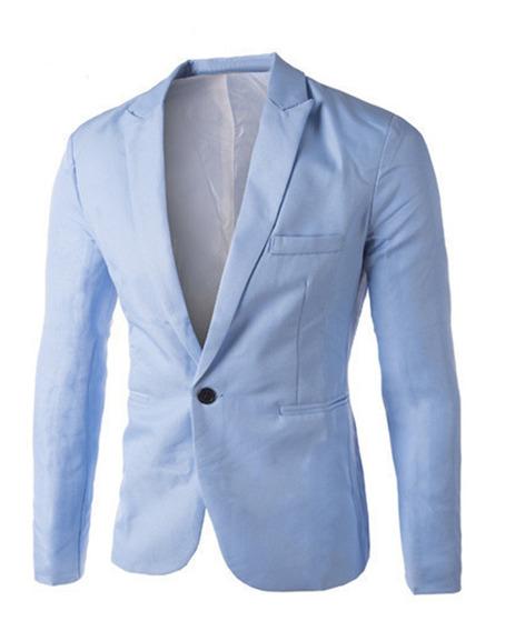 Nuevo Otoño Para Hombre Blazer Traje De 8 Colores Blazer Tr