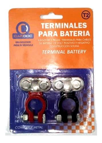 Terminales Bornes Para Bateria De Carros Universal T2